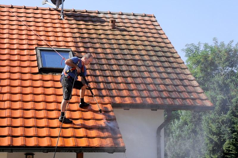 demoussage de toiture Villers-Bocage
